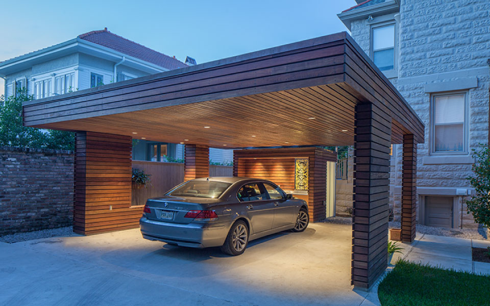 Carport For A Private Residence Studiowta